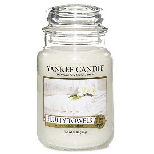 Yankee Candle 1205376E Fluffy Towels Grosses Jar