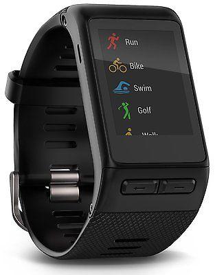 GARMIN VIVOACTIVE HR Schwarz,GPS Sportuhr mit Smartwatchfunktionen NEU!!!