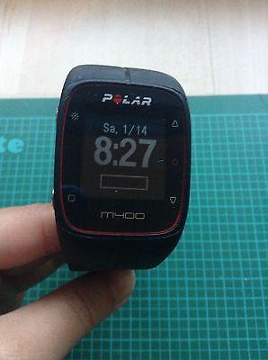 Polar M400 GPS-Laufuhr mit Brustgurt