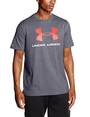 Under Armour Herren T-Shirt Sportstyle, grau (carbon heather), XL, 1257615