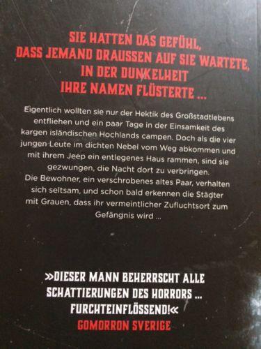 Bücherpaket Sammlung Paket 9 Bücher skandinavisch Island Krimi Thriller Konvolut