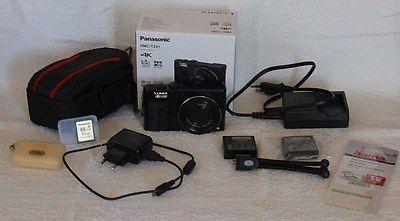 Panasonic Lumix DMC-TZ81 + Restgarantie + Zubehörpaket: Akku, Ladegerät, Karte