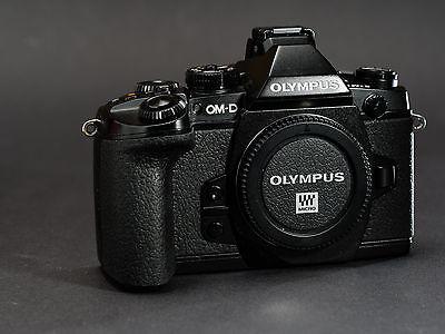 olympus om-d em1 e-m1 body m43 micro four third black schwarz original verpackt