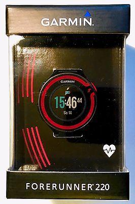 Garmin Forerunner 220 GPS Uhr mit Brustgurt + OVP!