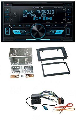 Kenwood DPX-3000U CD MP3 USB AUX 2-DIN Autoradio für VW Touareg 2002-2010 T5 CaravelleMultivan 2003-2009