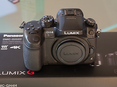 Panasonic Lumix GH4 Gehäuse absolut neuwertig DMC-GH4