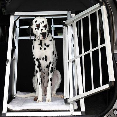 Hundebox Transportbox Alubox Box Hundetransportbox Reisebox Gitterbox ALU Hund