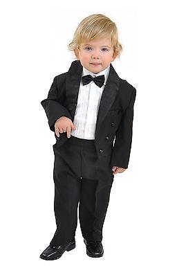 5 teiliger Kinderfrack Kinderanzug Frack Taufanzug Anzug Kommunion Größe 80 -140