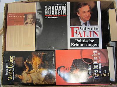 35  Bücher Biografie Biographie Memoiren Autobiografie Lebenserinnerungen