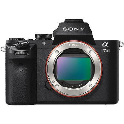 NEW Sony Alpha A7 II System Camera  Body only - Black (English)