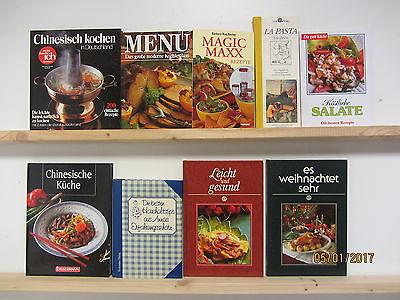 55 Bücher Kochbücher nationale und internationale Küche