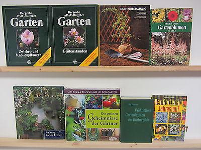 32 Bücher Garten Gärtnern Gartenblumen Gartenpflege Gartengestaltung