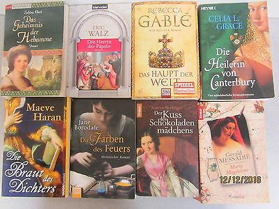 53 Bücher Taschenbücher Romane historische Romane Top Titel Bestseller Paket 2