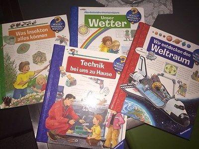 4 Bücher Wieso? Weshalb? Warum?