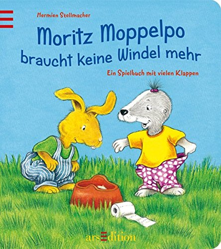 Moritz Moppelpo braucht keine Windel mehr: Ein Spielbuch mit vielen Klappen