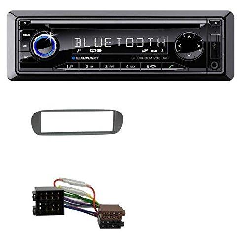 Blaupunkt Stockholm 230 DAB CD MP3 DAB USB SD Bluetooth AUX Autoradio für Fiat Barchetta (ab 1995)