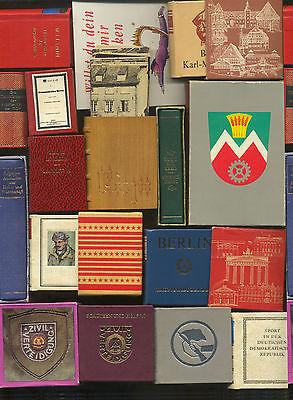 Konvolut DDR Minibücher    (0062)