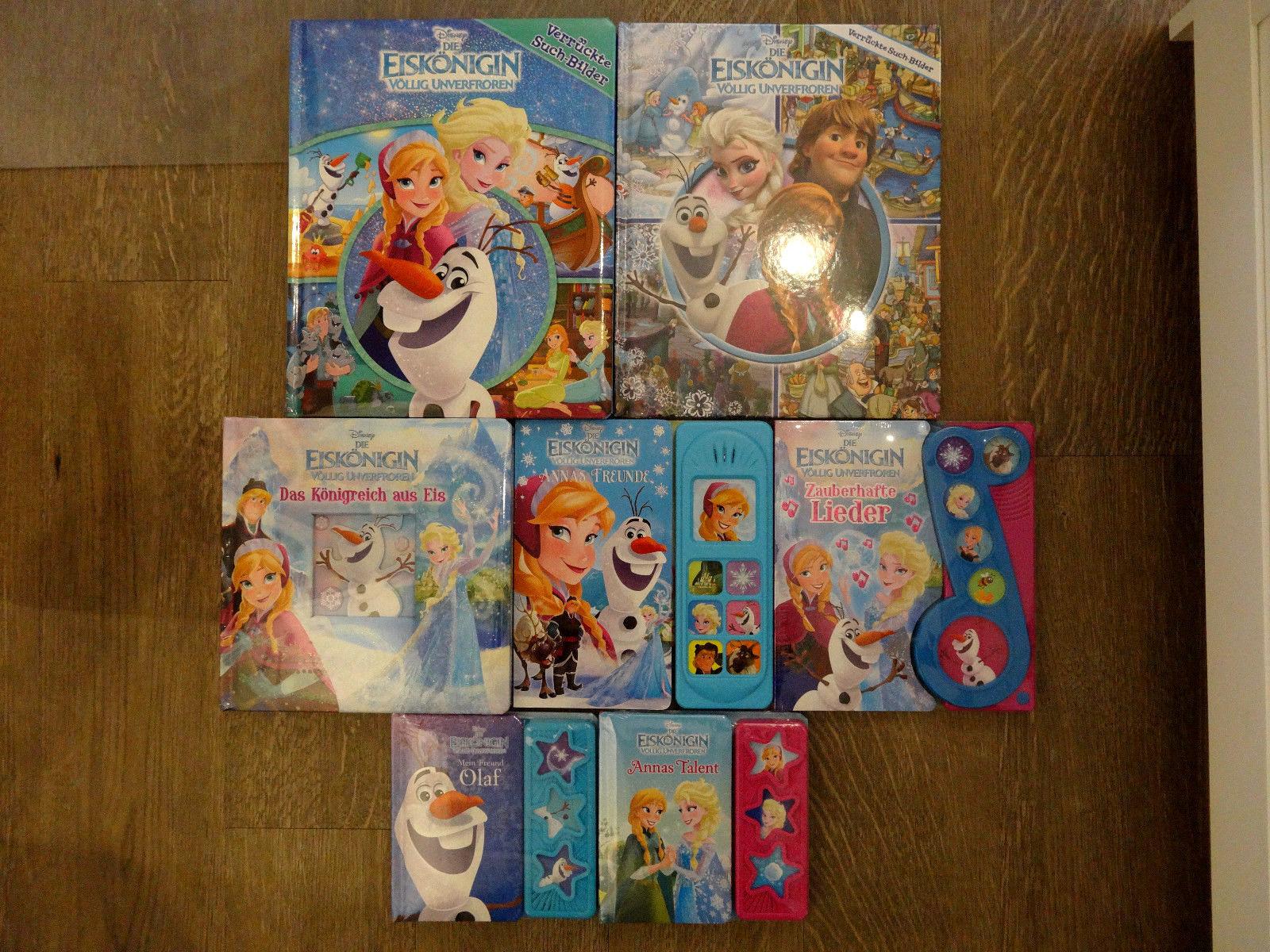 Paket 1 Disney Die Eiskönigin völlig unverfroren 7 Bücher NEU!!