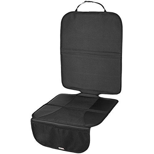 TECAROO Komfortable Autositzauflage in anthrazit mit 2 Jahren Zufriedenheitsgarantie - Sitzaufleger / Kindersitzunterlage