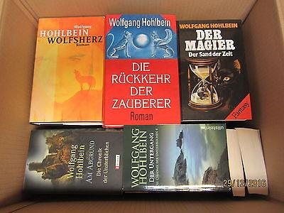 Wolfgang Hohlbein 32 Bücher Romane Fantasyromane historische Romane