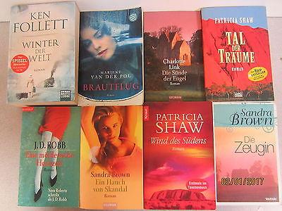 57  Bücher Taschenbücher Romane Top Titel Bestseller Paket 2