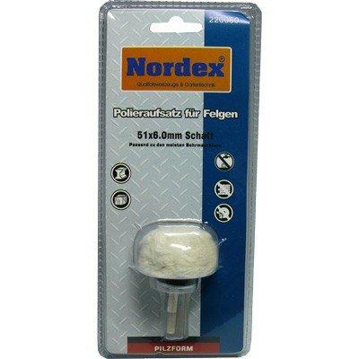 Nordex Polieraufsatz für Felgen Pilzform