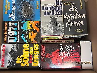 39  Bücher Romane Kriegsromane Weltkriegsromane Kriegserlebnisse