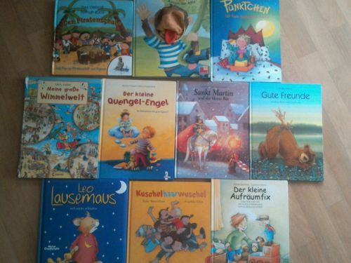 10 Bücher  Kleinkinder Kindergarten