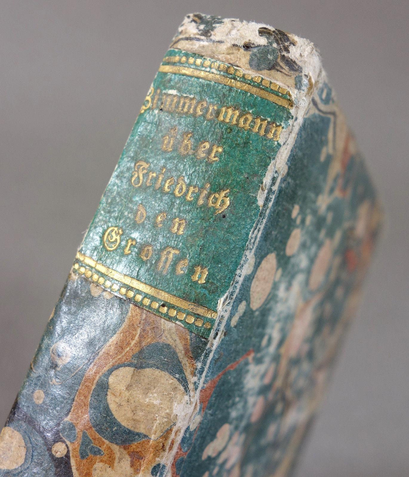 1788 - PREUSSEN - Friedrich der Große - LEIBARZT Potsdam Adel Medizin - SELTEN