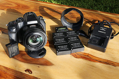 Panasonic LUMIX DMC-FZ1000 20.1 MP Digitalkamera mit 8 Akuhs