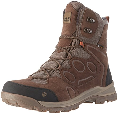 Jack Wolfskin Herren Thunder Bay Texapore High M Trekking-& Wanderstiefel, Braun (Mocca 5200), 47.5 EU