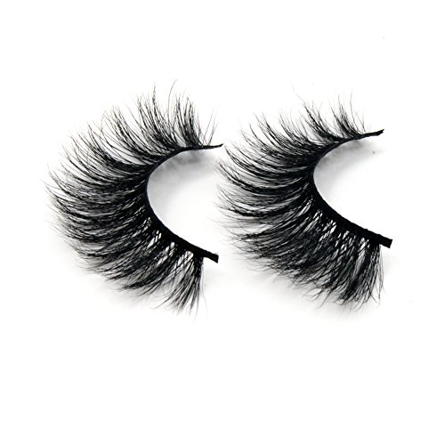 Arison Lashes Horse Hair False Eyelashes 3D 100% Hand-made Natural Look for Makeup(Pack of 2)