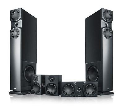Teufel Theater 6 Hybrid 5.2 Set High End Lautsprecher Bi-Turbo Heimkino schwarz