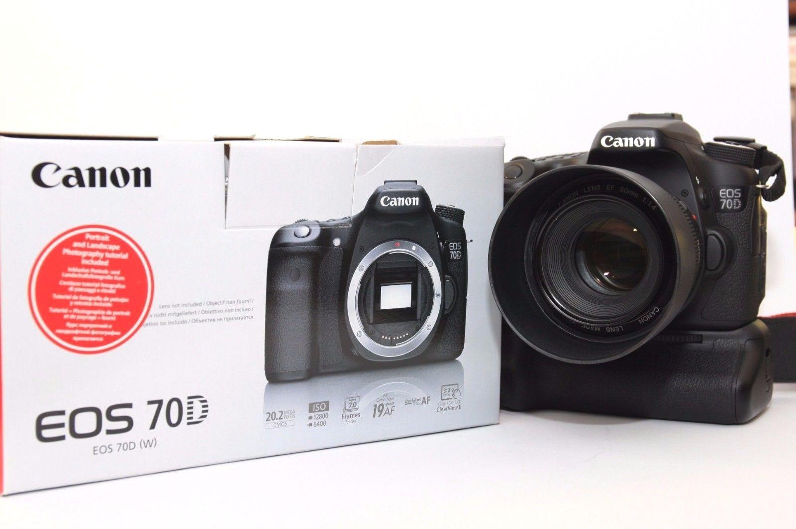 Canon EOS 70D nur Body / Gehäuse - top Zustand - Kein Import!