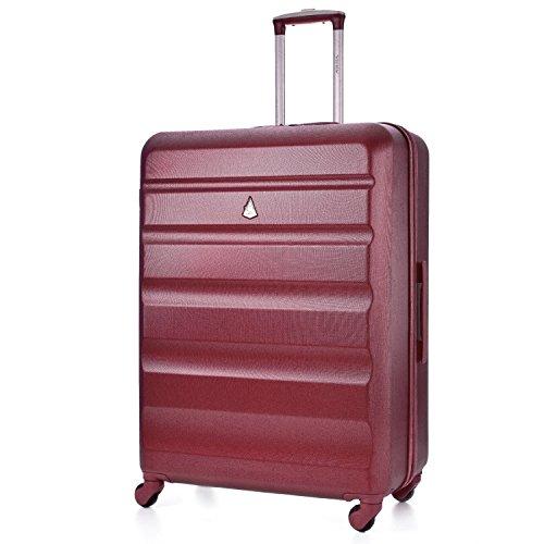 Aerolite ABS Hardshell Gepäck-Koffer- Trolley Reise