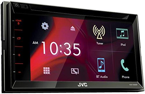 JVC KW-V330BT DVD-/CD-/USB-Receiver mit 17,3 cm Hochglanz Touch-Panel und integrierter Bluetooth-Technologie schwarz