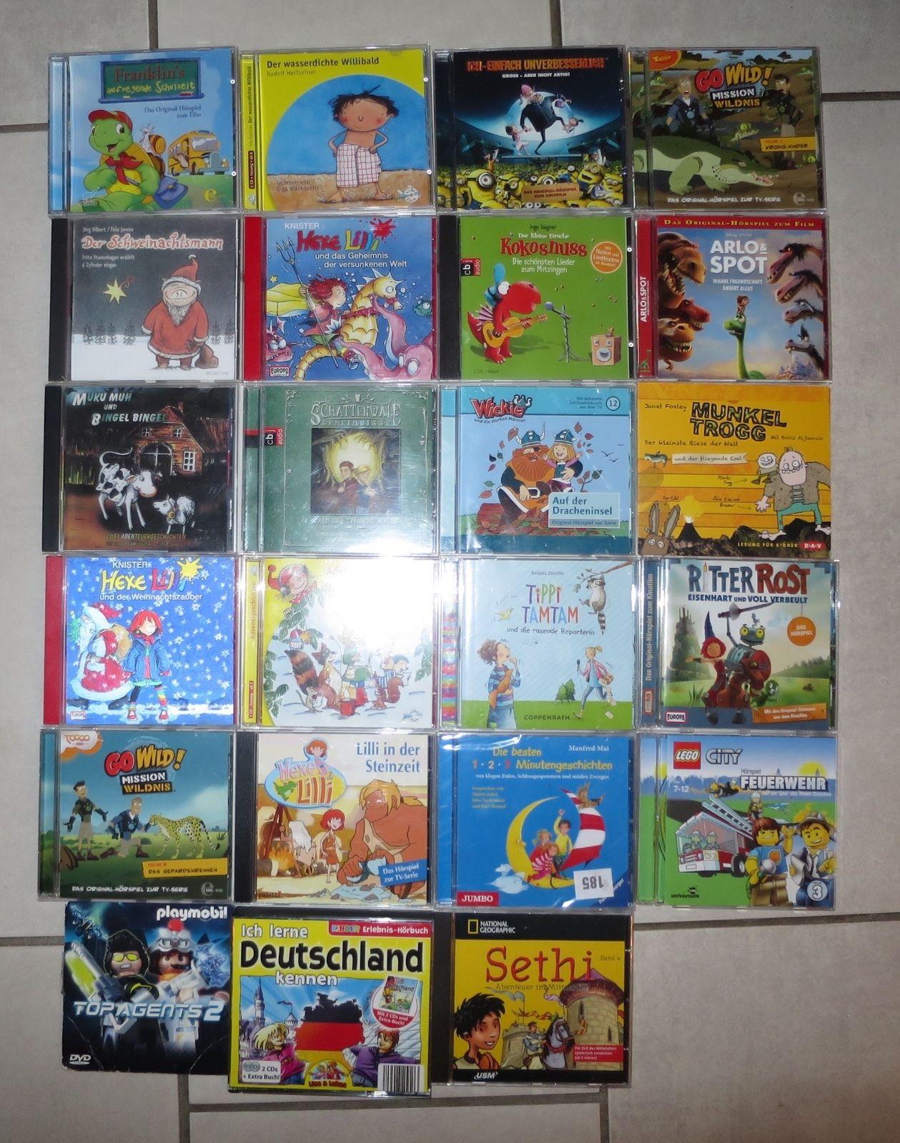 Jako-O CD-Paket Hörspiel Kinder 23 Stck. Drache Kokosnuss,Hexe Lilli,Ich-Einfach