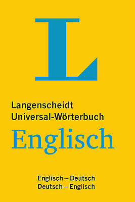 LANGENSCHEIDT Universal-Wörterbuch Englisch-Deutsch-Englisch Kompakt & handlich