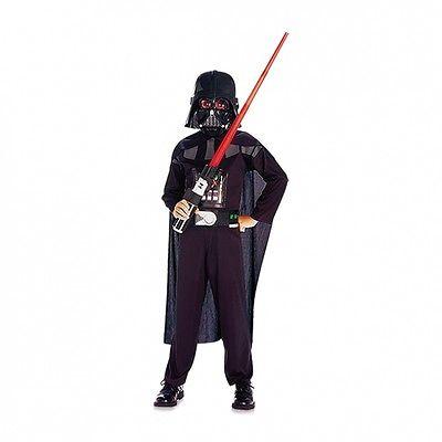 Darth Vader Kostüm für Kinder Darth Vaderkostüm Star Wars Kostüm Größe 140