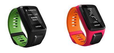 TomTom Runner 3 Cardio - GPS- Uhr - Sport, Lauf - Uhr, DPI/orange, small!