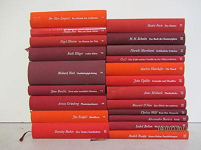 21 Bücher  Romane Brigitte Edition erlesen von Elke Heidenreich Top Titel