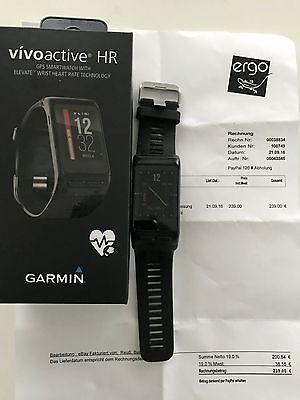 Garmin vivo active HR smart watch