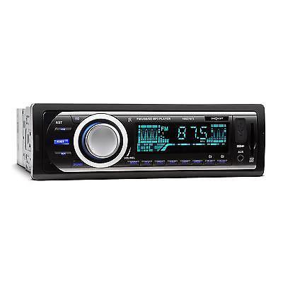 AUTORADIO MP3 USB SD UKW FM AUX 4 X 45W DIGITAL CAR HIFI 1DIN SINGLE DIN OHNE CD