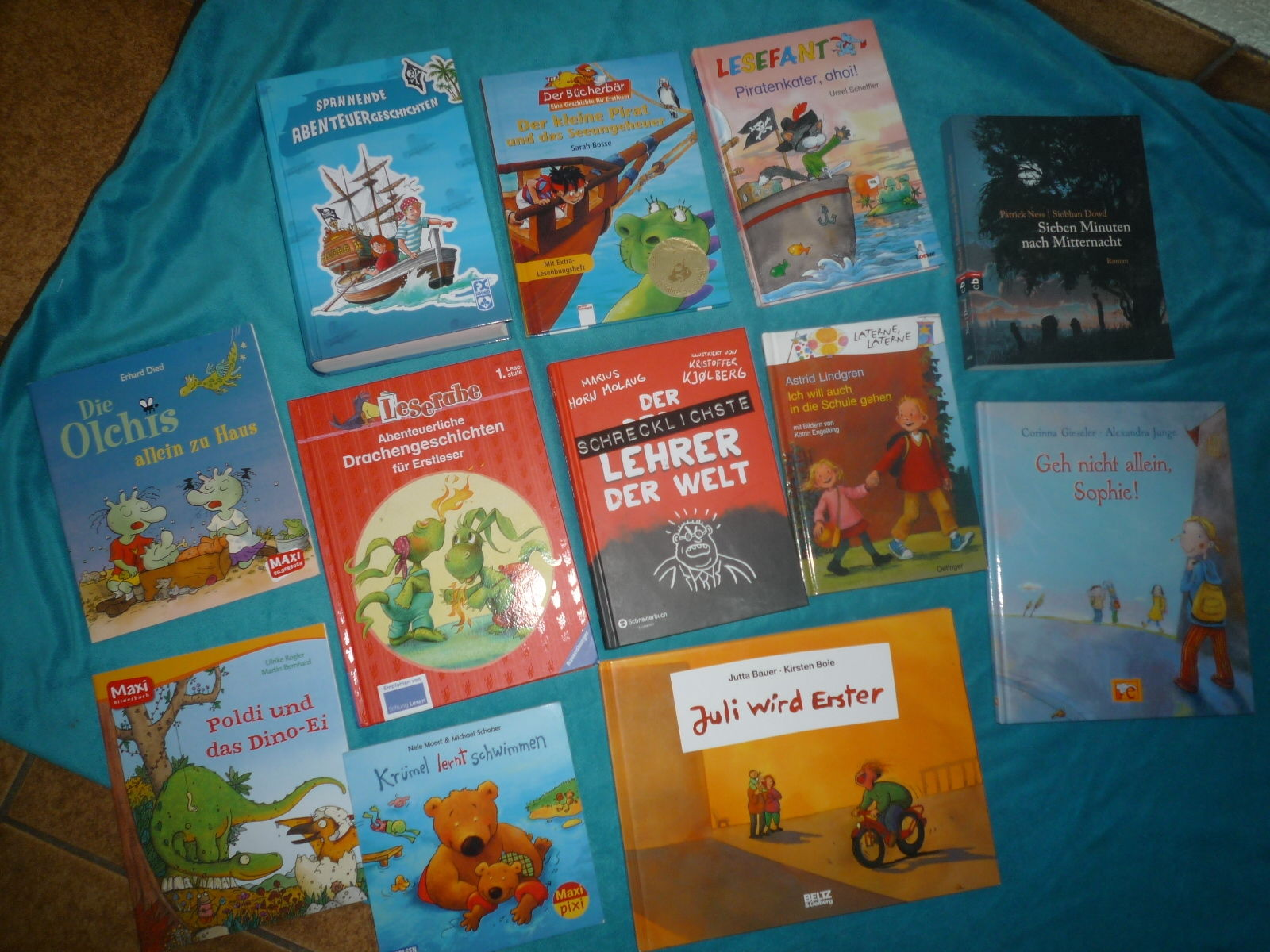 Paket Bilderbücher Kinderbücher Olchis Lindgren Lese-Lernbücher 12 Stück TOP
