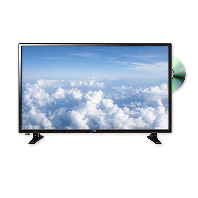 32 zoll Fernseher DVB-T2 HD LEDTV mit DVD / Sat Receiver DVB-C / usb Camping TV