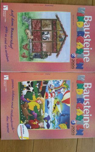 Bausteine Kindergarten 2005 hefte 2 & 3