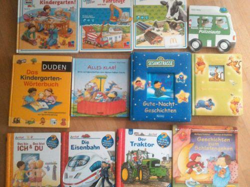 Kleinkinder 12 Bücher Paket Pappbücher Kindergarten