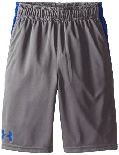 Under Armour Jungen Fitness Shorts Kurze Hose, Graphite, YXS