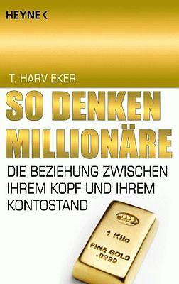 T. HARV EKER  So denken Millionäre **NEU & KEIN PORTO**