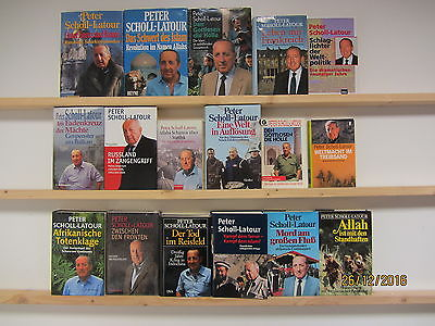 Peter Scholl-Latour 17 Bücher Sachbücher Naher Osten Islam politische Sachbücher